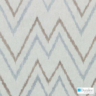 Duralee - 73033-433 - Mineral  | Upholstery Fabric - Beige, Fire Retardant, Grey, Silver, Geometric, Linen and Linen Look