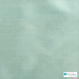 Duralee - 89188-270 - Celestial  | Curtain & Upholstery fabric - Plain, Silver, Natural Fibre, Silk, Turquoise, Teal