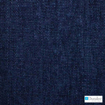 Duralee - 90875-206 - Navy  | Upholstery Fabric - Blue, Plain, Synthetic, Chenille, Dry Clean, Standard Width