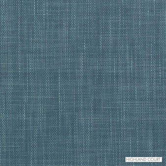 Highland Court - 190218H-11 - Thoreau - Turquoise  | Upholstery Fabric - Fire Retardant, Fibre Blends, Turquoise, Teal