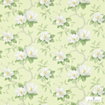 Zoffany Magnolia Bough 321446    Curtain & Upholstery fabric - Farmhouse, Floral, Garden, Natural Fibre, Domestic Use, Natural, Standard Width