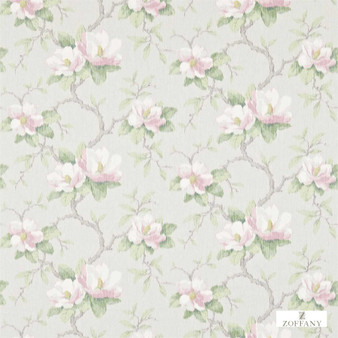 Zoffany Magnolia Bough 321448    Curtain & Upholstery fabric - Farmhouse, Floral, Garden, Natural Fibre, Domestic Use, Natural, Standard Width