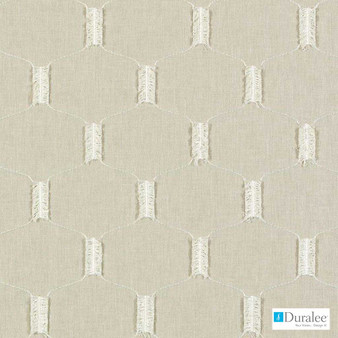Duralee - Da61697-152 - Wheat    Curtain & Upholstery fabric - Beige, Fibre Blends, Midcentury, Dry Clean, Embroidery