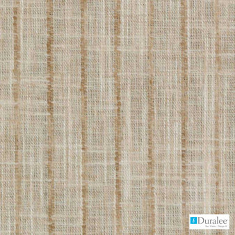 Duralee - Dc61673-152 - Wheat    Curtain & Curtain lining fabric - Slub, Stripe, Synthetic, Tan, Taupe, Dry Clean, Strie