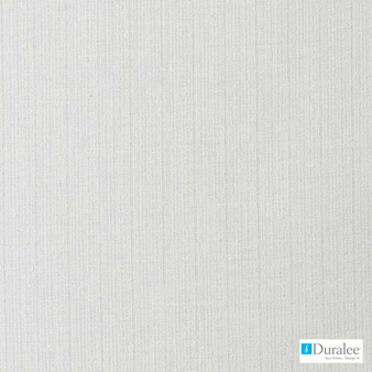 Duralee - Dd61485-522 - Vanilla  | Curtain & Curtain lining fabric - Grey, Plain, Silver, White, Stripe, Synthetic, White
