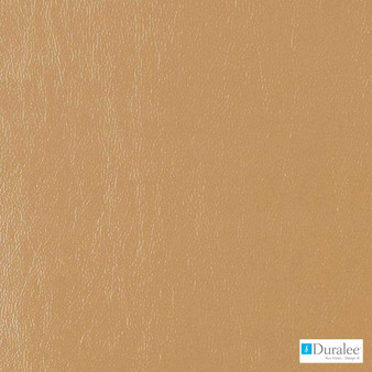 Duralee - Df16135-106 - Carmel  | Upholstery Fabric - Brown, Fire Retardant, Leather, Plain, Synthetic, Standard Width