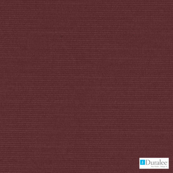 Duralee - Dk61161-165 - Bourdeaux  | Curtain & Upholstery fabric - Fire Retardant, Plain, Red, Synthetic, Dry Clean, Strie
