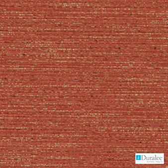 Duralee - Dk61275-33 - Persimmon  | Curtain & Upholstery fabric - Plain, Red, Fibre Blends, Dry Clean, Standard Width, Strie