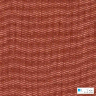 Duralee - Dk61430-38 - Russett  | Curtain & Upholstery fabric - Plain, Red, Terracotta, Linen and Linen Look, Dry Clean