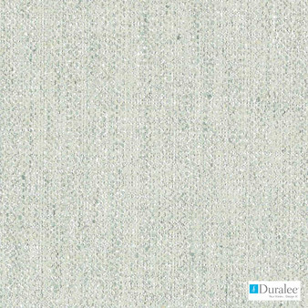 Duralee - Dk61692-246 - Aegean  | Curtain & Upholstery fabric - White, Synthetic, Turquoise, Teal, Dry Clean, White