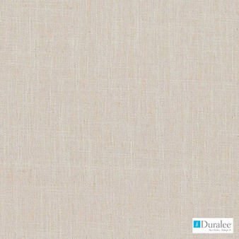 Duralee - Dk61782-143 - Creme  | Curtain & Upholstery fabric - Fire Retardant, Plain, Linen and Linen Look, Synthetic, Strie