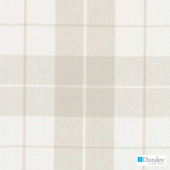 Duralee - Dm61404-531 - Neutral  | Curtain & Upholstery fabric - Beige, Check, Fibre Blends, Linen and Linen Look, Twill