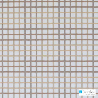 Duralee - Dm61607-531 - Neutral  | Curtain & Upholstery fabric - Beige, Check, Natural Fibre, Tan, Taupe, Dry Clean