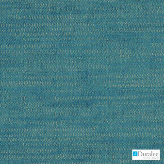 Duralee - Dn15826-11 - Turquoise    Upholstery Fabric - Stain Repellent, Fire Retardant, Plain, Synthetic, Backing, Chenille