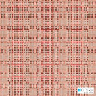 Duralee - Dn16329-224 - Berry  | Upholstery Fabric - Red, Check, Geometric, Midcentury, Synthetic, Standard Width