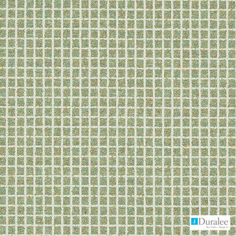 Duralee - Dn16337-251 - Sage  | Upholstery Fabric - Fire Retardant, Check, Geometric, Synthetic, Turquoise, Teal