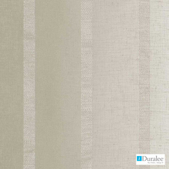 Duralee - Ds61263-120 - Taupe  | Curtain & Curtain lining fabric - Beige, Fire Retardant, Silver, Stripe, Synthetic