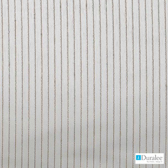 Duralee - Ds61668-519 - Rattan  | Curtain & Curtain lining fabric - Beige, Fire Retardant, Grey, White, Stripe, Synthetic