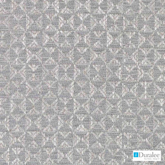 Duralee - Du16067-433 - Mineral  | Upholstery Fabric - Fire Retardant, Grey, Silver, Fibre Blends, Geometric, Chenille