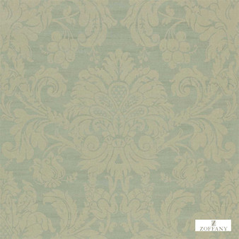 Zoffany Crivelli ZCDW02013  | Wallpaper, Wallcovering - Damask, Traditional, Commercial Use, Domestic Use, Semi-Plain