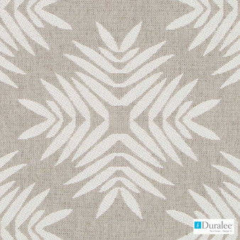 Duralee - Du16252-531 - Gianfranco - Neutral  | Upholstery Fabric - Beige, Fire Retardant, Fibre Blends, Geometric, Backing