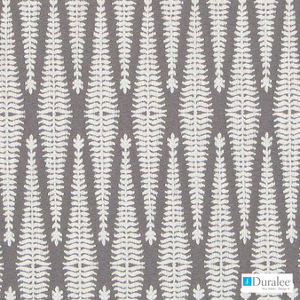 Duralee - Du16260-79 - Calvin - Charcoal  | Upholstery Fabric - Grey, Silver, Fibre Blends, Geometric, Backing, Chenille