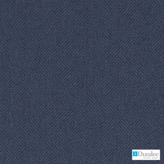 Duralee - Dw15927-206 - Navy | Curtain & Upholstery fabric - Blue, Dry Clean, Geometric, Twill, Tone on tone, Standard Width