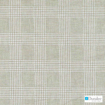 Duralee - Dw16002-433 - Mineral | Upholstery Fabric - Beige, Silver, Dry Clean, Check, Plaid, Print, Standard Width