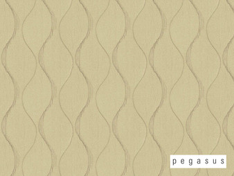 Pegasus Chicane - Parchment  | Curtain Fabric - White, Eclectic, Fibre Blends, Geometric, Midcentury, Ogee, Transitional, Domestic Use, Dry Clean, White, Standard Width