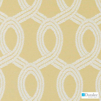 Duralee - Dw16059-205 - Jonquil | Upholstery Fabric - Fire Retardant, Gold, Yellow, Mid Century Modern, Outdoor Use, Lattice, Trellis, Texture