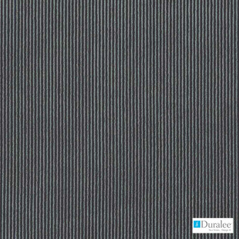 Duralee - Dw16161-79 - Charcoal | Curtain & Upholstery fabric - Black, Charcoal, Stripe, Dry Clean, Corduroy, Tone on tone, Standard Width