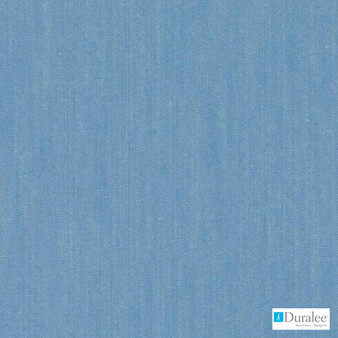 Duralee - Dw16171-157 - Chambray | Upholstery Fabric - Blue, Dry Clean, Natural, Plain, Texture, Natural Fibre, Standard Width