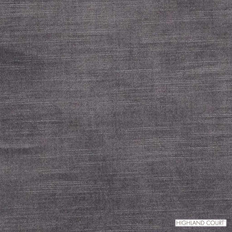 Highland Court - Hv15813-95 - Plum  | Upholstery Fabric - Fire Retardant, Black, Charcoal, Dry Clean, Velvets, Plain, Fibre Blend, Standard Width