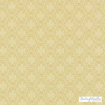Bailey Griffin - 190240H-632 - Paloma Matelasse - Sunflower  | Upholstery Fabric - Fire Retardant, Gold, Yellow, Contemporary, Dry Clean, Geometric