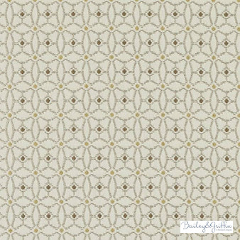 Bailey Griffin - Bu15836-282 - Ibiza - Bisque  | Upholstery Fabric - Fire Retardant, Beige, Green, Tan, Taupe, Mediterranean, Dry Clean, Geometric