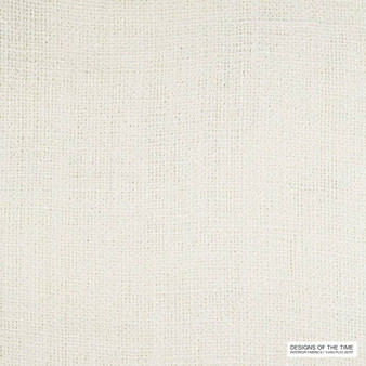Designs Of The Time - Tiah - Yp18001 - 53409-101 | Curtain & Upholstery fabric - Whites, Plain, Texture, Fibre Blend, Standard Width