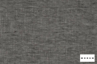 Mokum - Rhythm - Basalt - 12551-861  | Curtain & Curtain lining fabric - Black, Charcoal, Wide-Width, Acoustic Properties, Natural, Pattern, Strie