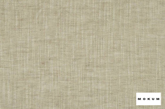 Mokum - Rhythm - Linen - 12551-812  | Curtain & Curtain lining fabric - Tan, Taupe, Wide-Width, Natural, Pattern, Strie, Texture, Natural Fibre