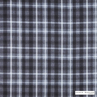 James Dunlop Indent - Sutherland - Granite - 13279-101 | Curtain & Upholstery fabric - Fire Retardant, Traditional, Check, Plaid, Fibre Blend