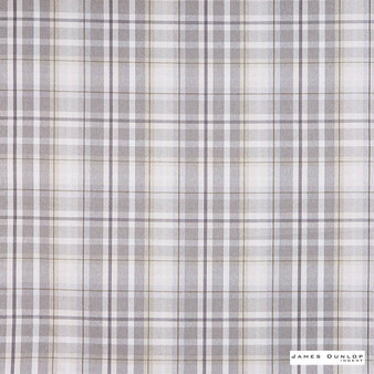 James Dunlop Indent - Sutherland - Oatmeal - 13279-102 | Curtain & Upholstery fabric - Fire Retardant, Traditional, Check, Plaid, Fibre Blend