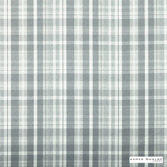 James Dunlop Indent - Sutherland - Sterling - 13279-103 | Curtain & Upholstery fabric - Fire Retardant, Traditional, Acoustic Properties, Check