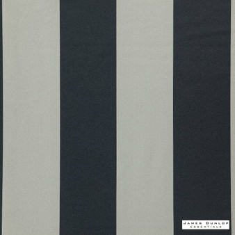 James Dunlop Essentials - Advance - Shadow - 12485-133  | Curtain & Upholstery fabric - Black, Charcoal, Stripe, Natural, Natural Fibre