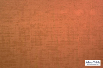 Ashley Wilde - Dakota - Dakota Saffron  | Curtain & Upholstery fabric - Orange, Velvets, Plain, Texture, Standard Width