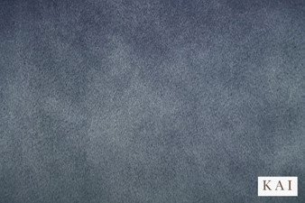 Kai - Letino - Letino Col Mist  | Curtain & Upholstery fabric - Blue, Dry Clean, Velvets, Plain, Standard Width