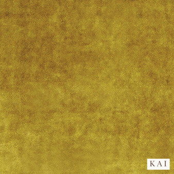 Kai - Letino - Letino Col Mustard  | Curtain & Upholstery fabric - Gold, Yellow, Dry Clean, Velvets, Plain, Standard Width