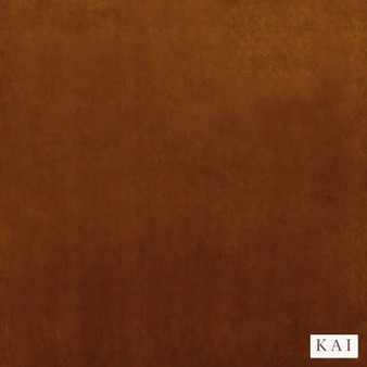 Kai - Letino - Letino Col Rust  | Curtain & Upholstery fabric - Brown, Dry Clean, Velvets, Plain, Standard Width