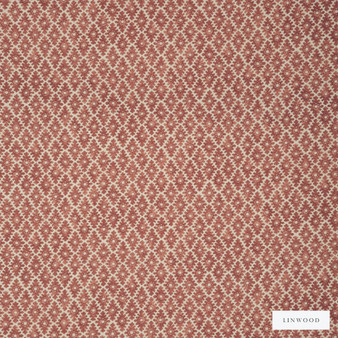 Linwood - Lf1630C_013 Russet  | Curtain & Upholstery fabric - Washable, Brown, Kilim, Natural, Print, Small Scale, Natural Fibre, Standard Width