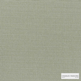 Charles Parsons Interiors - Finsbury Desert | Curtain Fabric - Fire Retardant, Green, Uncoated, Plain