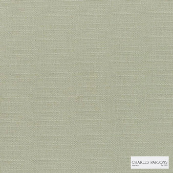 Charles Parsons Interiors - Finsbury Sand | Curtain Fabric - Fire Retardant, Green, Uncoated, Plain