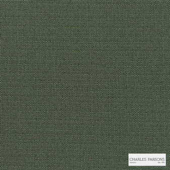 Charles Parsons Interiors - Finsbury Slate | Curtain Fabric - Fire Retardant, Green, Uncoated, Plain